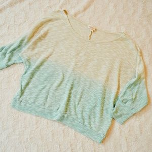 Ombre Knit Sweater Top